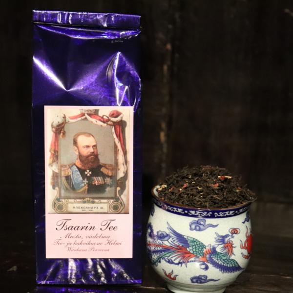 Tsaarin tee - vadelmainen musta tee