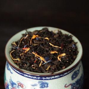 Musta maustettu tee, Casanova, Kiina