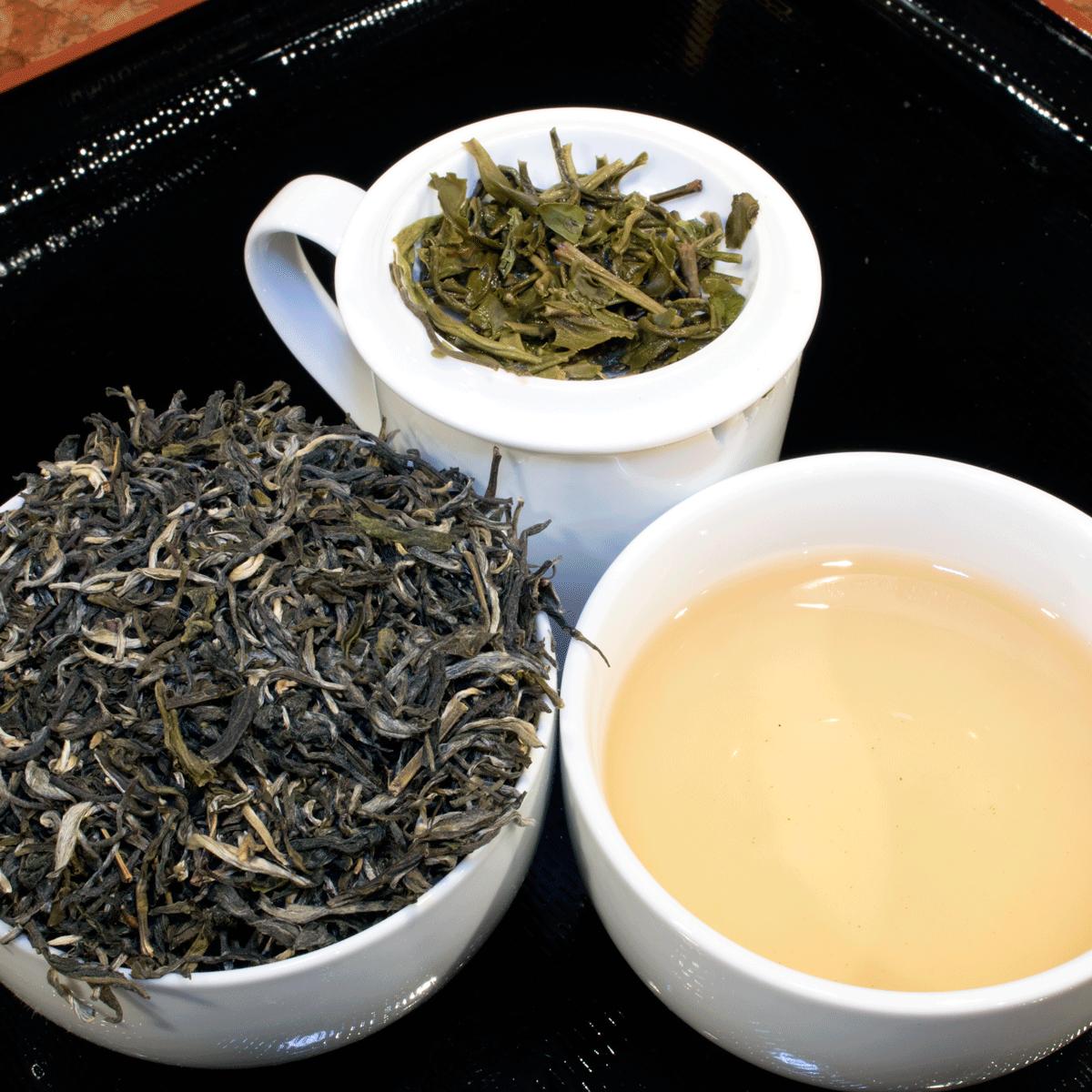 Valkoinen Apina Bai Hou Kui Kiinalainen Vihreä Tee